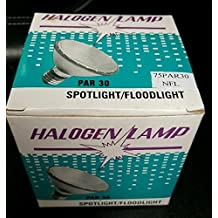 (Pack of 6) Halogen 75 Watt Par30 Short Neck Flood Light