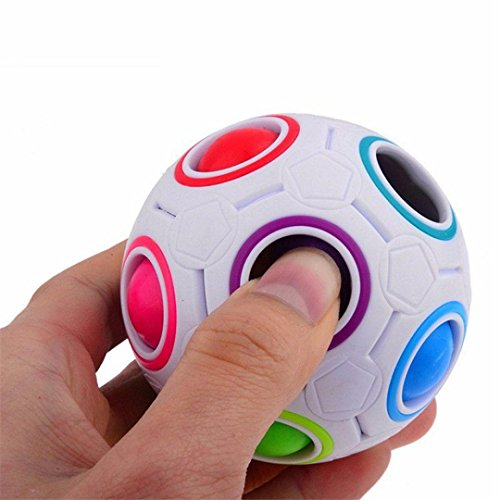 501 Star Wars Costumes (2017 Pop Rainbow Magic Ball Plastic Cube Twist For Children's Educational Toy Teenagers Adult Stress Reliever, By LUNIWEI)