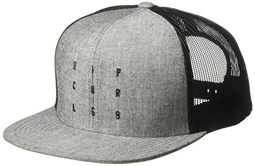 Rip Curl Men's Line up Trucker, Black/Black, (Logos Rip Curl)