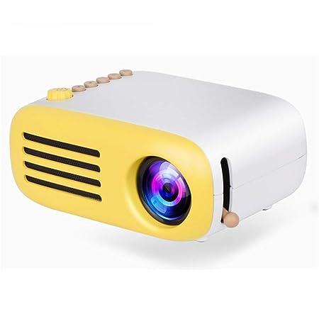 ZDNP Inicio proyector portátil con Altavoz de múltiples ...