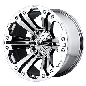 18x9//5x139.7mm, 0mm offset XD Series by KMC Wheels XD801 Crank Triple Chrome Plated Wheel