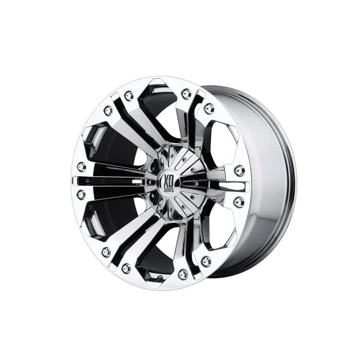 XD Series by KMC Wheels XD778 Monster Triple Chrome Plated Wheel (20×9″/6x135mm, +18mm offset)
