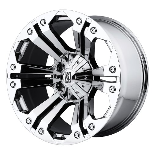 "XD Series by KMC Wheels XD778 Monster Triple Chrome Plated Wheel (20x9""/6x135mm, +18mm offset)"