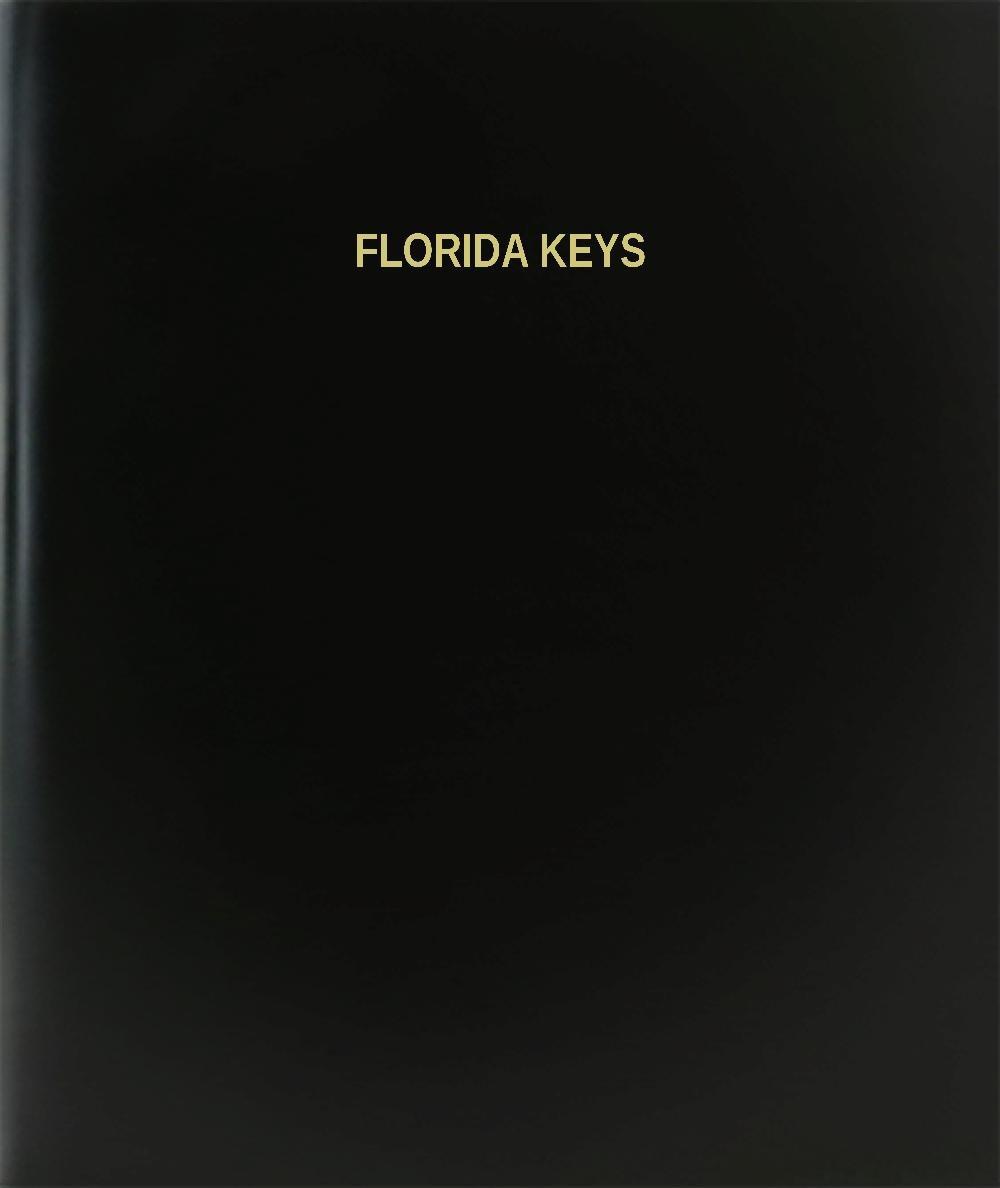 BookFactory Florida Keys /日記/ログブック – 120ページ、8.5