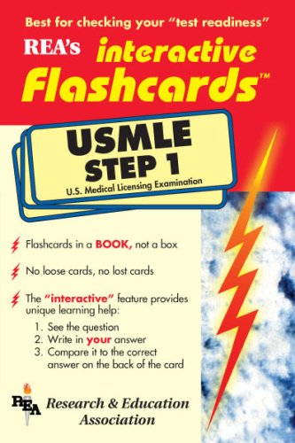 USMLE Step 1 Interactive Flashcards Book (Flash Card Books) (Pt.1)