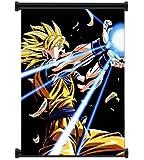 Dragon Ball Z Anime Super Saiyan Goku Fabric Wall Scroll Poster (16x21) Inches [ACT]DragonBallZ-36