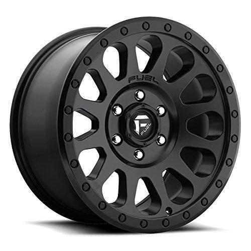 Fuel D579 Vector 17x8.5 6x139.7 +7mm Matte Black Wheel Rim