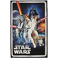 Gertmenian: Star Wars HD Digital Retro Collection A New Hope Classic Bedding Area Rug 40x54 inch, Medium, Blue