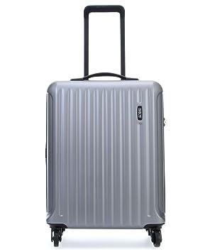 Brics Riccione Trolley para portátil, 55 cm, Azul (Light Silver)