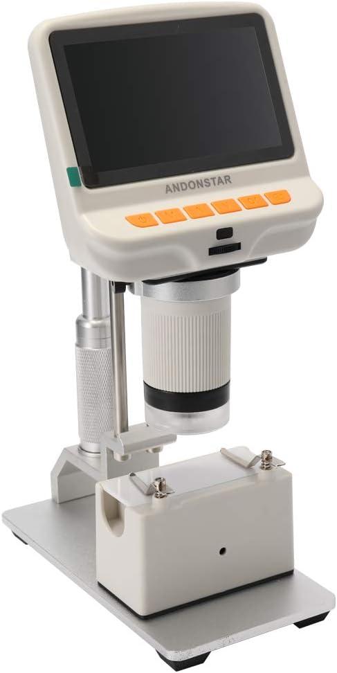 pantalla de 4.3 pulgadas Microscopio USB digital 1080P para reparaci/ón de tel/éfonos m/óviles Observaci/ón de c/élulas de soldadura Zitainn Lupa digital