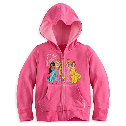 Disney Store Princess Hoodie Sweatshirt Jacket Size S 5-6 5T Rapunzel -