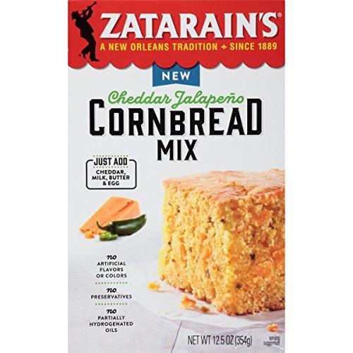 Zatarain's Cheddar Jalapeno Cornbread Mix, 12.5 oz (Case of ()