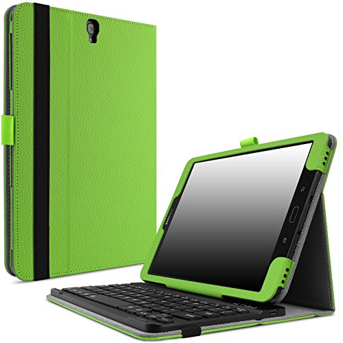 Infiland Galaxy Tab S3 9.7 Keyboard Case, Folio Slim Cove...