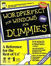 Wordperfect for Windows for Dummies