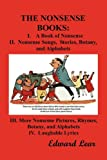 Image of The Nonsense Books: The Complete Collection of the Nonsense Books of Edward Lear (with Over 400 Original Illustrations)