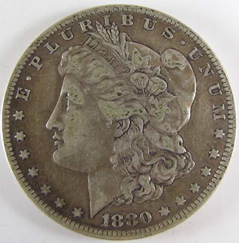 1880 O Morgan Silver Dollar $1 Very Fine (1880 O Morgan Silver Dollar Coins)