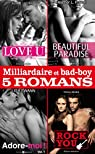 Milliardaire et bad-boy - Cinq romans par Green