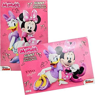 "UPD Minnie Mouse Giant Coloring and Activity Book - 11"" x 16"": Toys & Games"