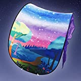 BOYKO Kids Play Tents Pop up Bed Tent Kids Tent Mosquito Net, Children Playhouse for Outdoor Camping Birthday Gifts-Twin Size (Fantasy Forest)
