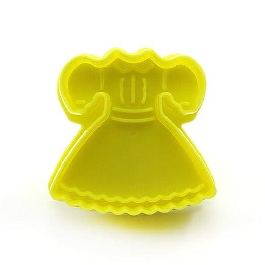 DDU - Molde para repostería de plástico Seguro, Modelo de Vestido ...