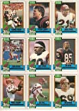 Cincinnati Bengals 1990 Topps Football Team Set w/ Year-End Traded Cards (Boomer Esiason) (Ickey Woods) (Eddie Brown) (Jason Buck) (Tim Krumire) (Tim McGee) (James Brooks) (Anthony Munoz) (Rodney Holman) (Eric Ball) (David Fulcher)