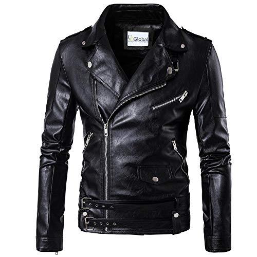 T&I Texas Stylish Leather Jacket for Men - Real Leather Jacket for Men