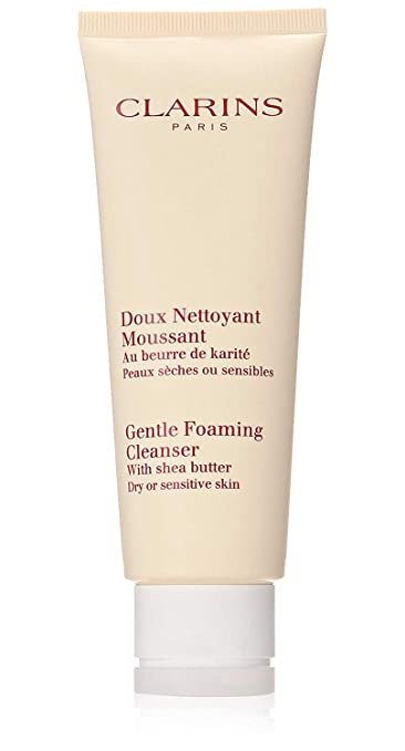 Clarins Gentle Foaming Cleanser for Dry Sensitive Skin