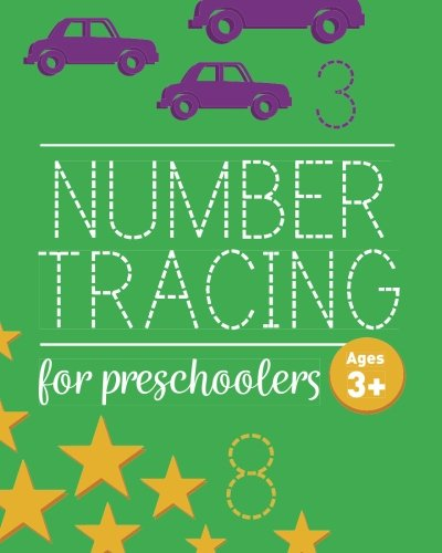 Number Tracing Book For Preschoolers: Number Tracing Book, Practice For Kids, Ages 3-5, Number Writing Practice cover