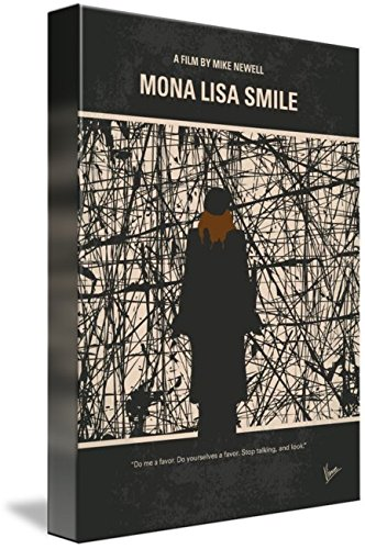 Wall Art Print entitled No914 My Mona Lisa Smile Minimal Movie Poster by Chungkong Art   16 x 22 (Shape Wellesley)