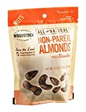 Woodstock Non-Pareil Almonds Raw & Unsalted 7.5 OZ (Pack of 16)