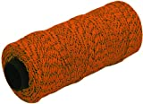 MARSHALLTOWN The Premier Line ML614 Mason's Line 500-Foot Orange and Black Bonded Nylon