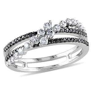 Amour- Anillo de oro blanco con diamante