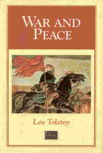 a literary analysis of the effects of war in war and peace by leo tolstoy Tolstoy's art and thought, 1847-1880 intellectual and literary history, and textual analysis to explain in comparison with war and peace, tolstoy moved in.
