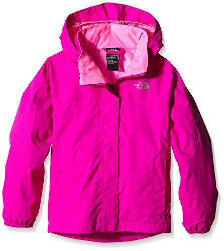 The North Face Kids Girl's Resolve Reflective Jacket (Little Kids/Big Kids) Luminous Pink XL (18 Big Kids)
