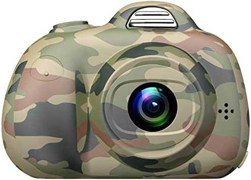 WJPY Cámara Digital Mini cámara réflex Infantil@Camuflaje: Amazon ...