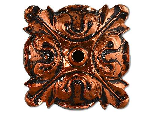 Lauderdale Tile Fleurette Bronze (FLE-BRO) by Lauderdale Tile