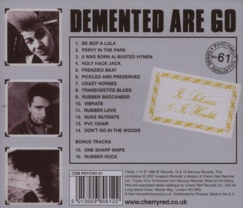 In Sickness & In Health by Demented Are Go