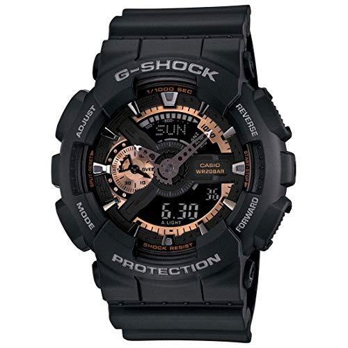 Color Crystal Watch - G-Shock Men's Crystal Watch Color: Black