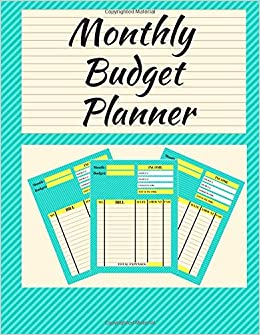 amazon monthly budget planner 8 5 x 11 150 pages dumkist finance