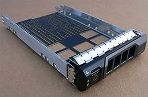 'gotor® SAS SATA HDD Tray Caddy Marco para PowerEdge R320R420, R520, R720F238F (aptos para 3.5)