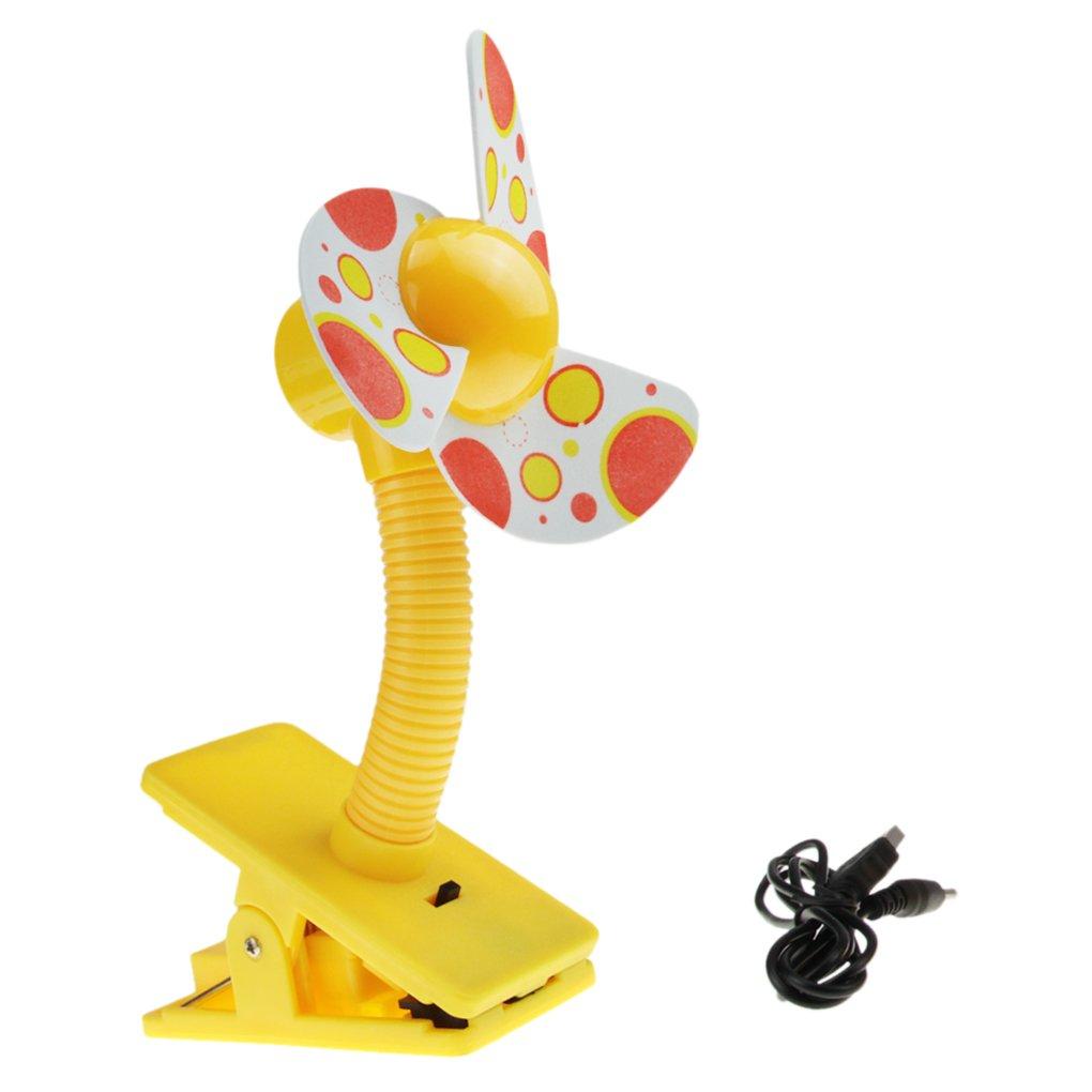 Mini USB Ventilateur pour B/éb/é Lit Agrafe Vent Silencieux Clip-on Ventilateur Rotation de 360 Degr/és Rechargeable Batterie Mini Ventilateur de Table Pour PC Portable Poussette Landau