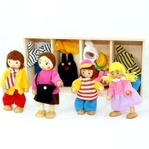 Freda rosé Puppenfamilie
