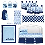 Pam-Grace-Creations-13-Piece-Crib-Bedding-Set-Cars