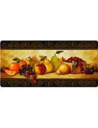 Purchase Apache Mills 60-122-0354-20X42 Gourmet Fruit Kitchen Mat, 20-Inch by 42-Inch opportunity