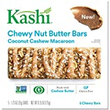 Kashi Coconut Cashew Macaroon Chewy Granola Nut Butter Bars, 6.2 Ounce