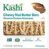 Kashi Coconut Cashew Macaroon Chewy Granola Nut Butter Bars, 6.2 oz