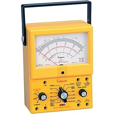 Simpson 260-8XI / 12395 Analog Multimeter VOM