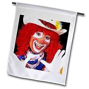 Danita Delimont - Clowns - Portrait of a clown for a childrens show - LI07 BBA0064 - Bill Bachmann - 18 x 27 inch Garden Flag (fl_83222_2)