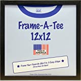 Amazon Com Umbra T Frame T Shirt Display Case Black