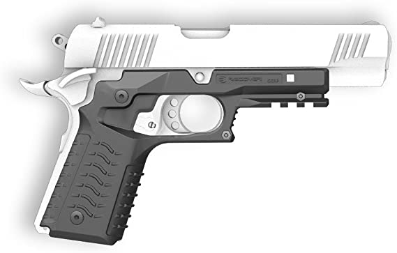 Recover Tactical CC3H 1911 Grip and Rail System No Modifications Required